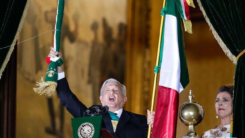 墨西哥庆祝独立210周年