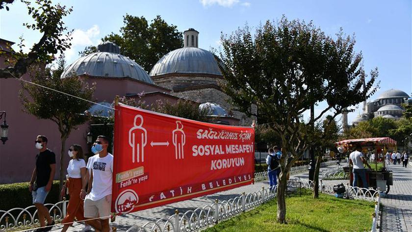疫情下的土耳其伊斯坦布尔旅游景点
