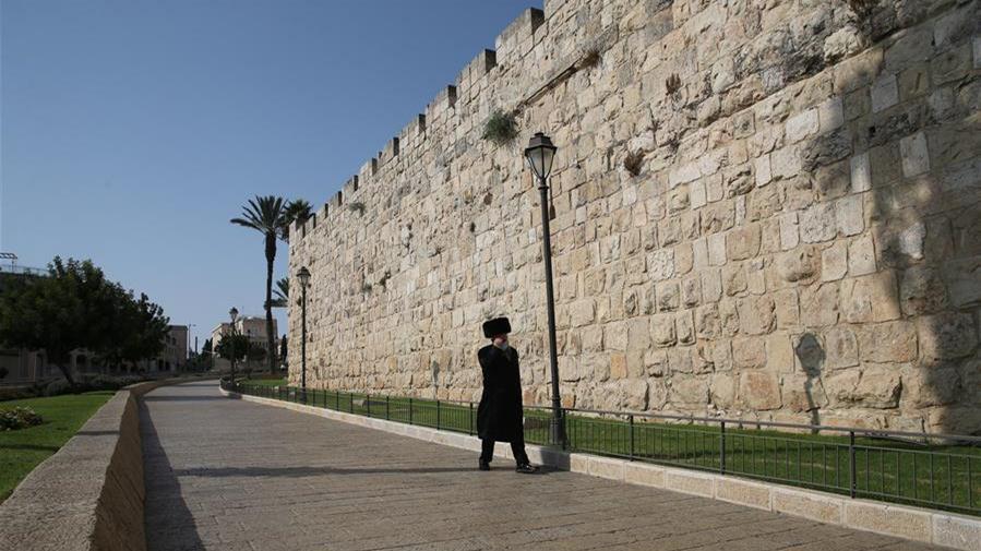 """再度""""封城""""下的耶路撒冷老城"""