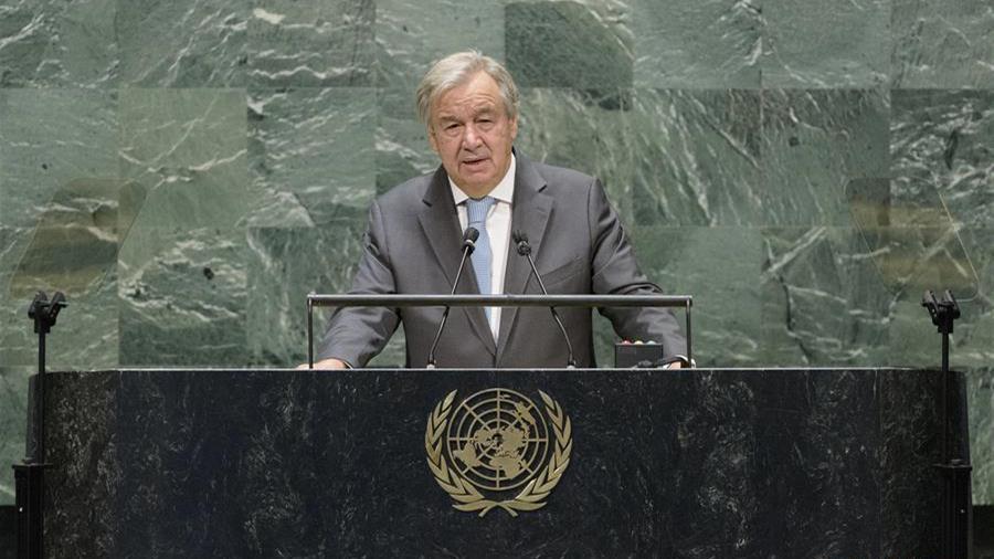 联合国秘书长呼吁各国共同努力改善全球治理