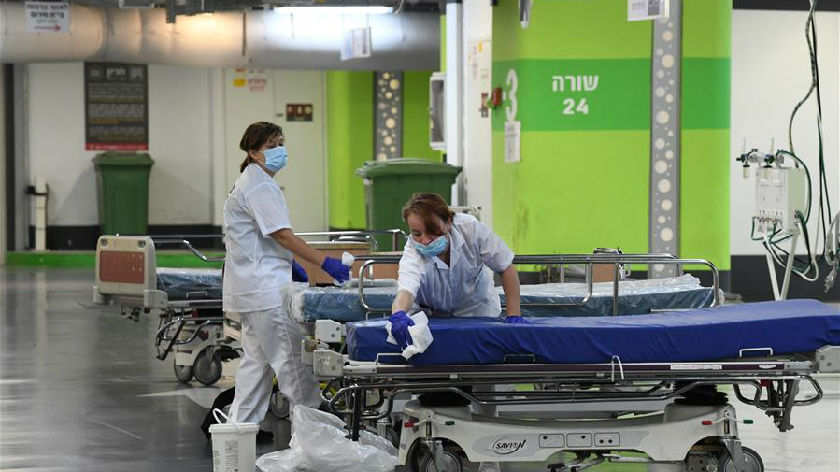 以色列:地下停车场改建新冠病房