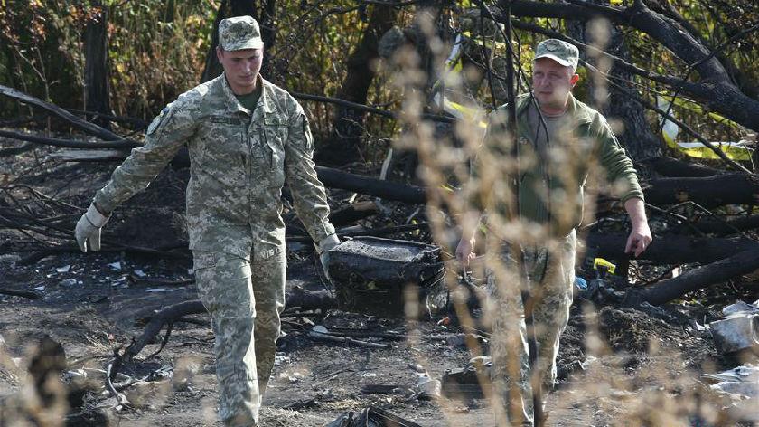 乌克兰军机坠毁事故死者升至26人
