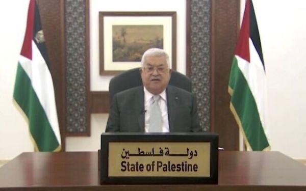 外媒:巴勒斯坦总统在联大痛批美国单边主义行径