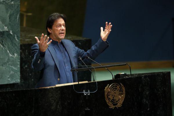 外媒:巴基斯坦总理联合国讲话狠批印度