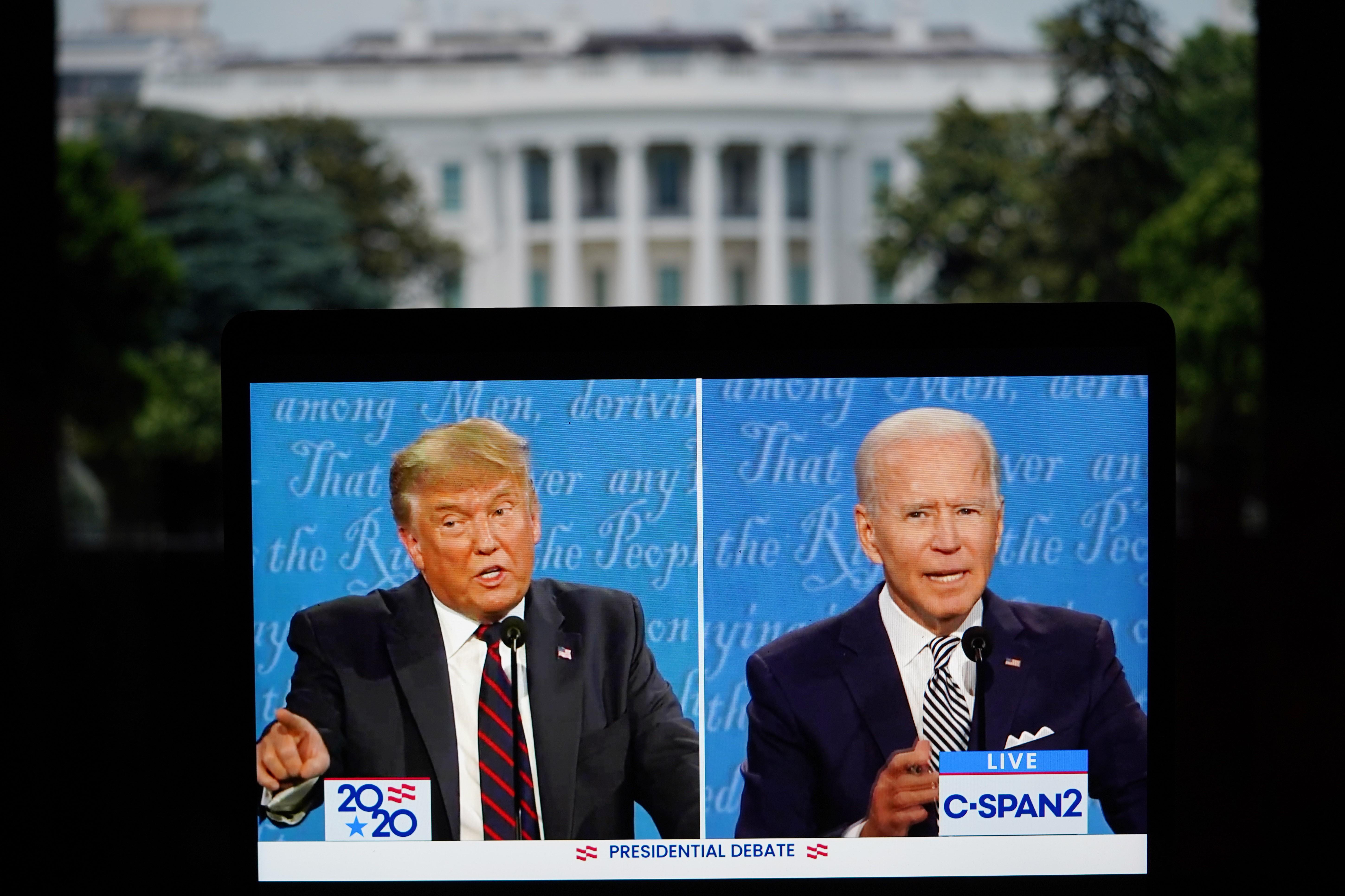 美大选首场辩论混乱收场:互相攻讦无底线 重大议题失焦点