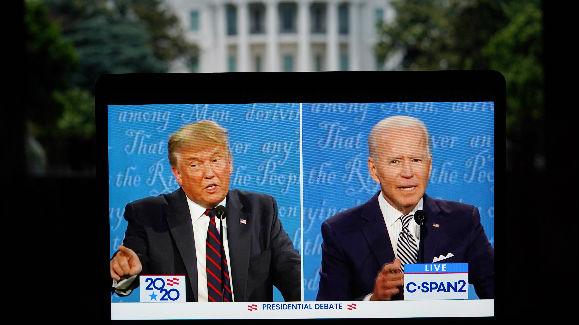 """美首场大选辩论被指没有赢家 拜登批特朗普表现是""""国家之耻"""""""