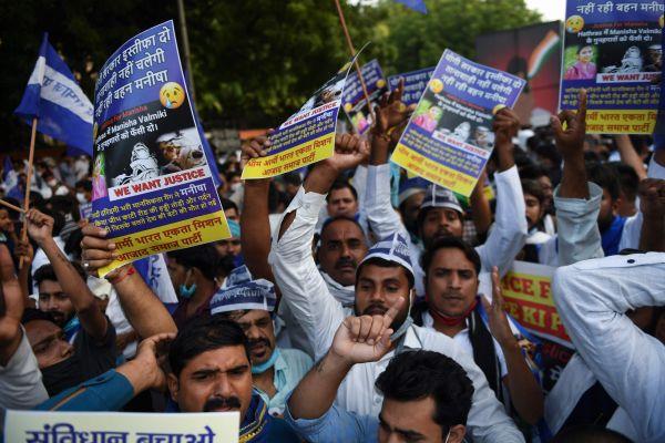 境外媒体:印度贱民女子遭轮暴案引发民众示威潮