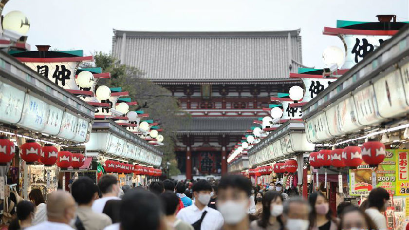 日本迎來全國適用旅游補貼后的首個周末