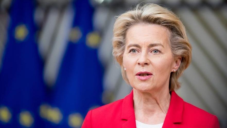 歐委會主席馮德萊恩宣布自我隔離