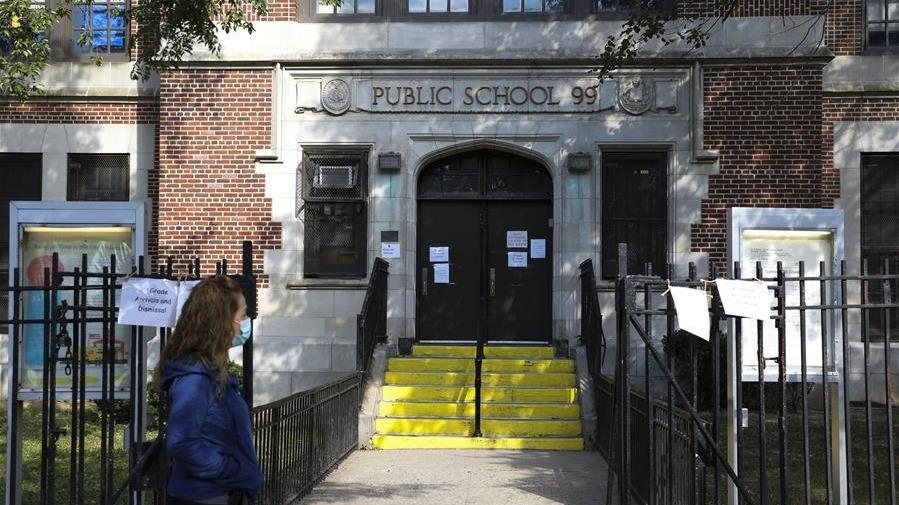 疫情反復 紐約市部分地區學校關閉