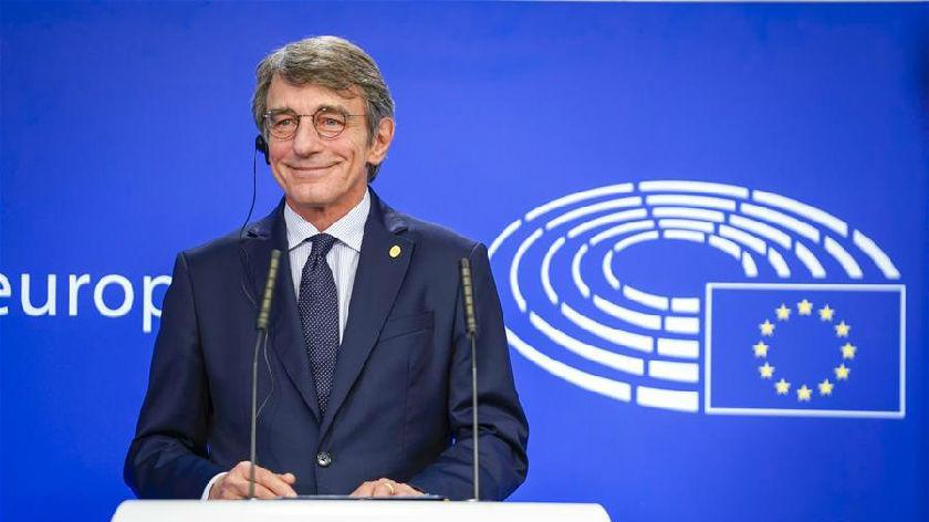 歐洲議會議長薩索利宣布自我隔離