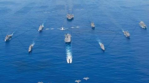美海軍欲擴至500艘艦艇抗衡中俄 俄軍事專家:徒勞