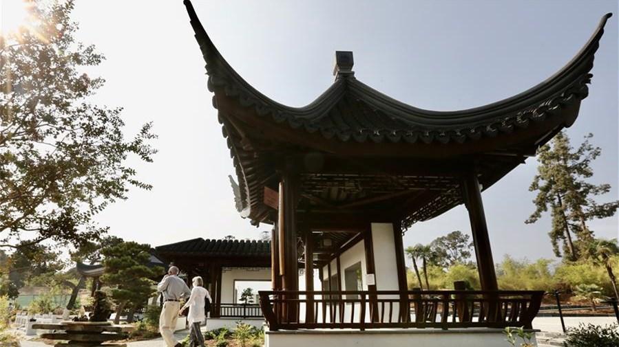 北美最大中式古典園林流芳園擴建完成對外開放