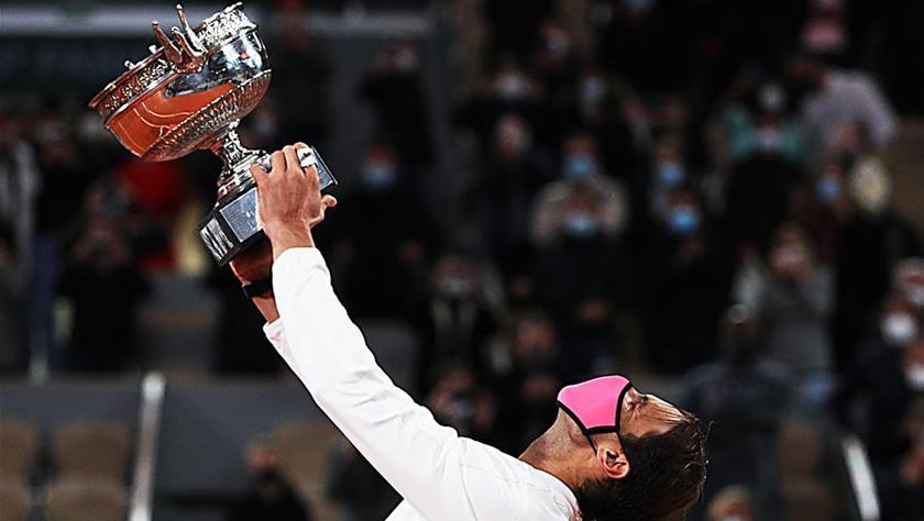法網男單決賽:納達爾奪冠