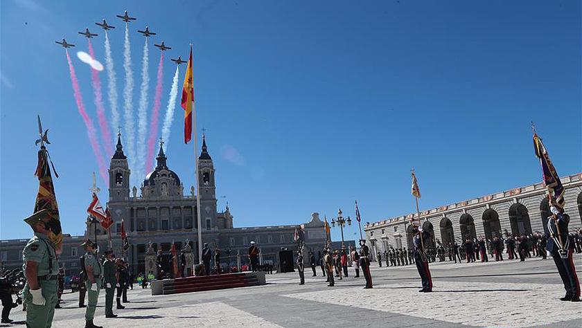 疫情下的西班牙國慶日活動