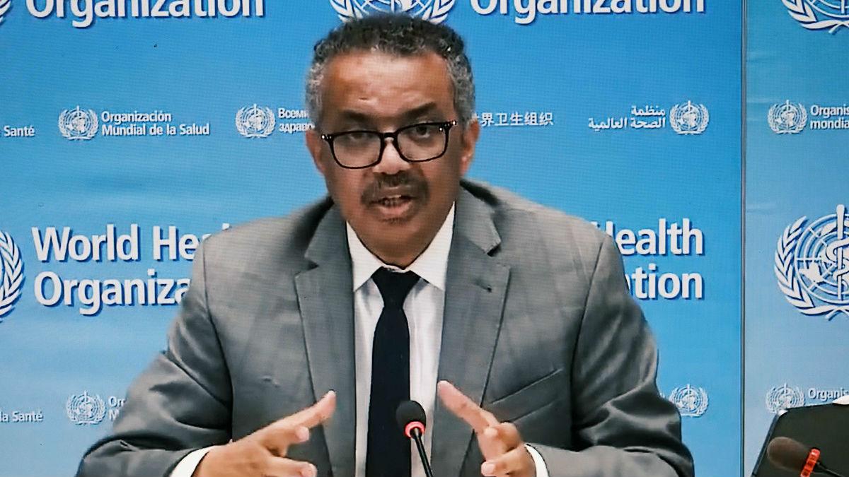 世卫组织总干事指出:疫情暴露全球领导力不足