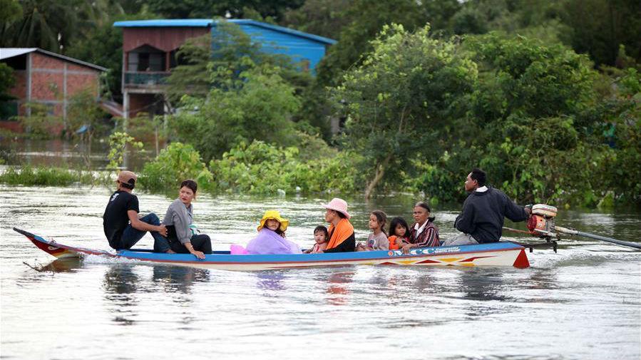 柬埔寨洪災已致34人喪生