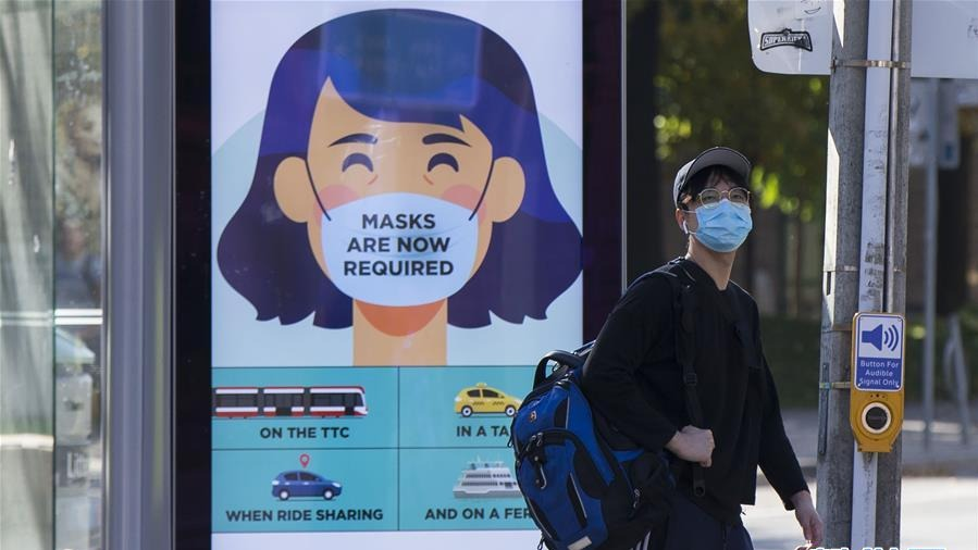 加拿大累計新冠確診病例超過21萬例