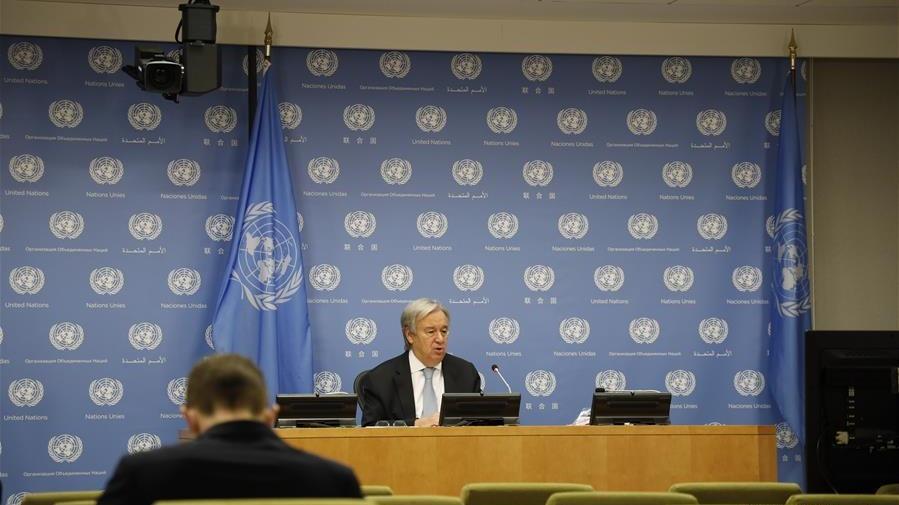 聯合國秘書長歡迎利比亞沖突雙方達成?;饏f議