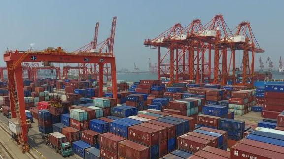 """联合国贸发会议报告显示:全球贸易萎缩 中国""""一枝独秀"""""""