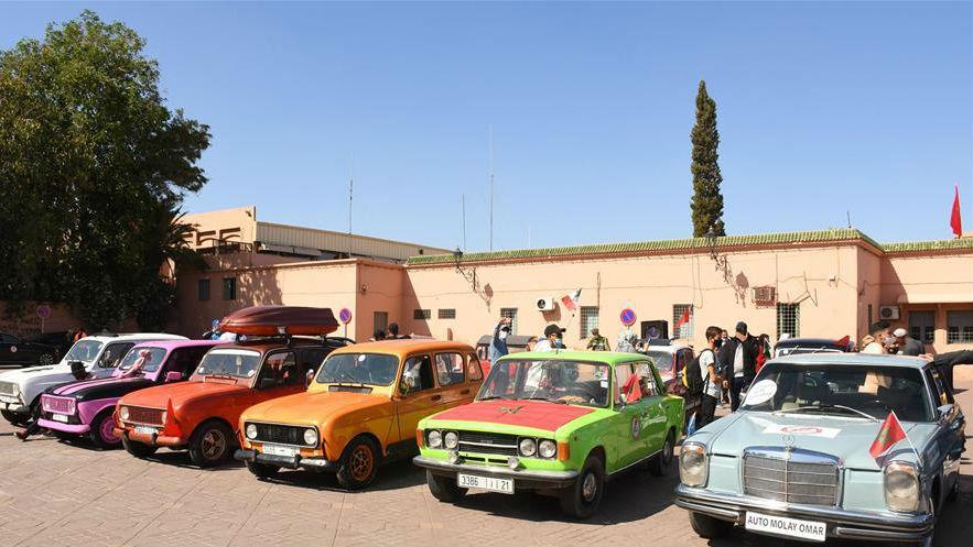 馬拉喀什舉辦老爺車展