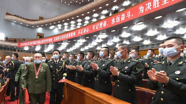 境外媒体述评:中国宣示维护和平坚定决心