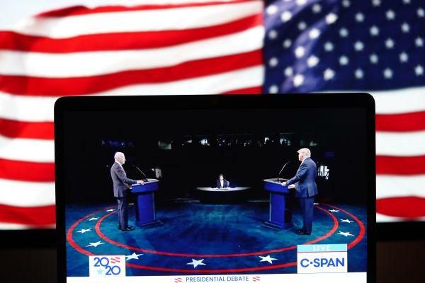美媒:为何红色代表共和党,蓝色代表民主党?