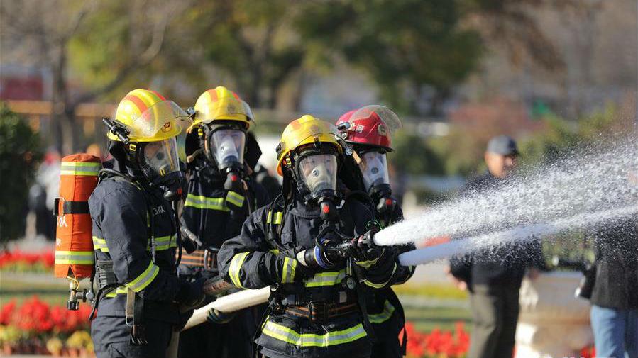 各地开展消防安全宣传活动