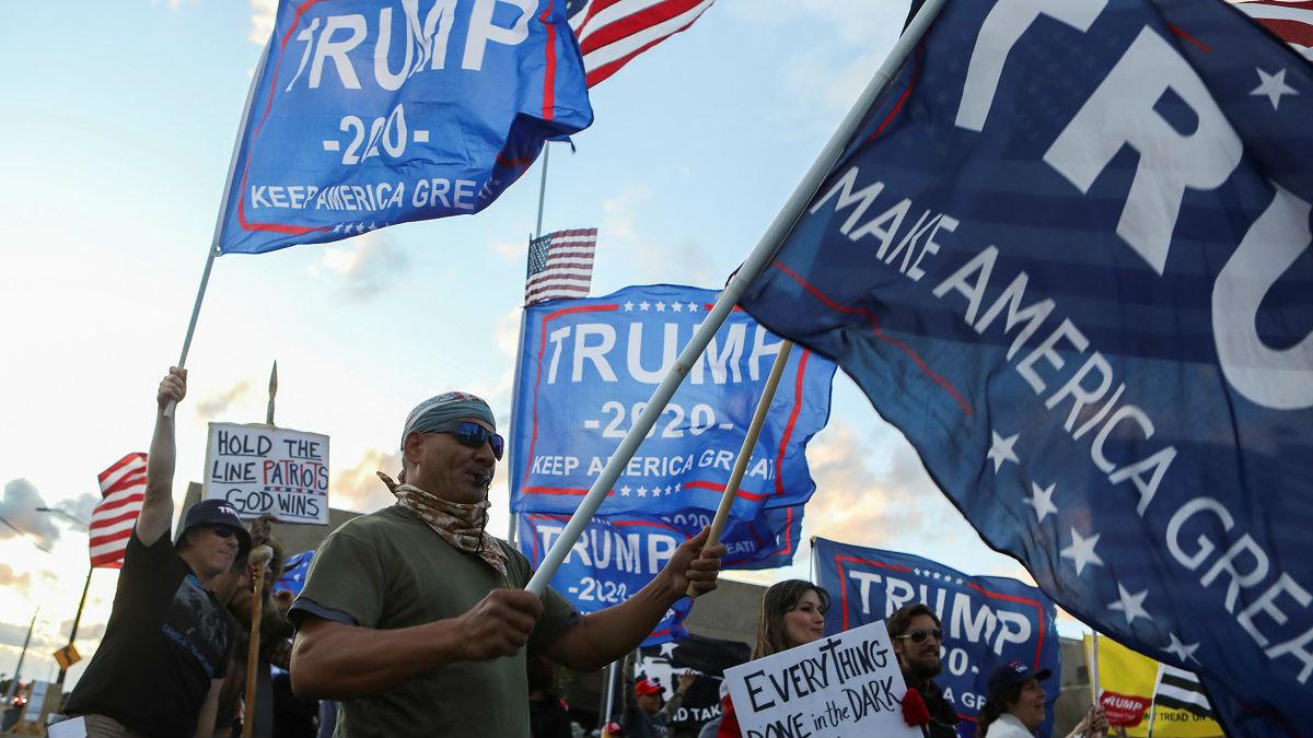 外媒:还没输?特朗普仍拒绝承认败选 展开法庭斗争