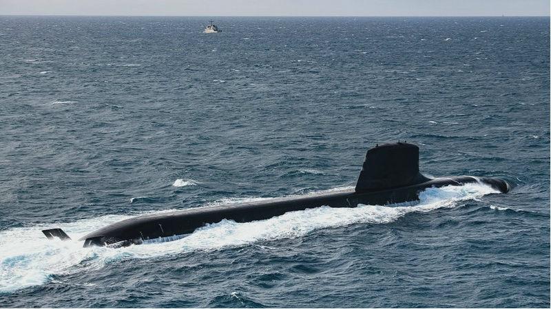 俄媒:法国新型梭鱼级核潜艇首艇交付海军 将建造6艘