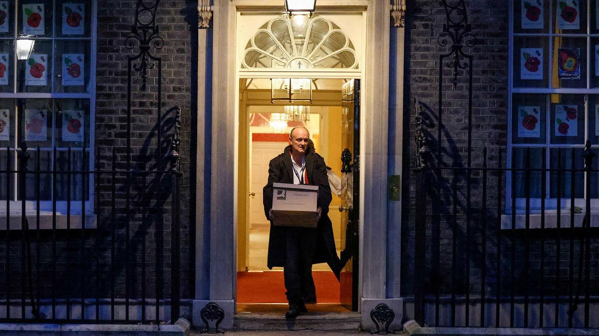 """英国""""脱欧设计师""""黯然离职 约翰逊对欧立场或将软化"""