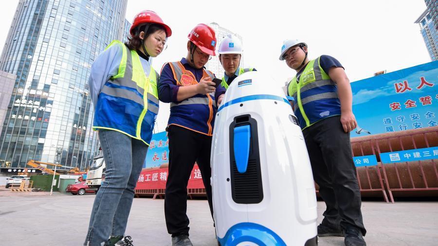 南京:智慧系统助施工