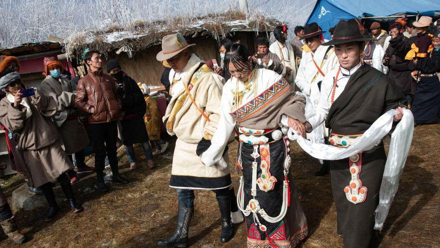 藏牧民向巴的婚礼