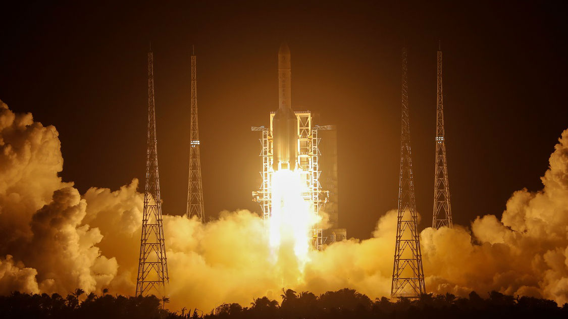 外媒:嫦娥五号开启赴月采样之旅
