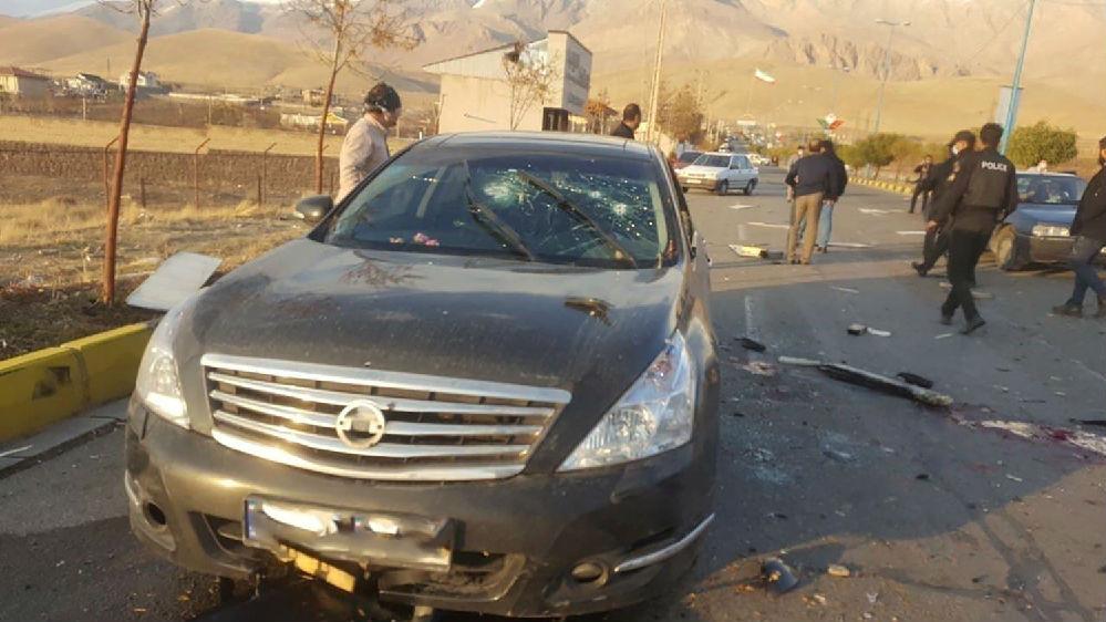 伊朗核科学家被暗杀细节曝光:至少5名枪手向轿车扫射