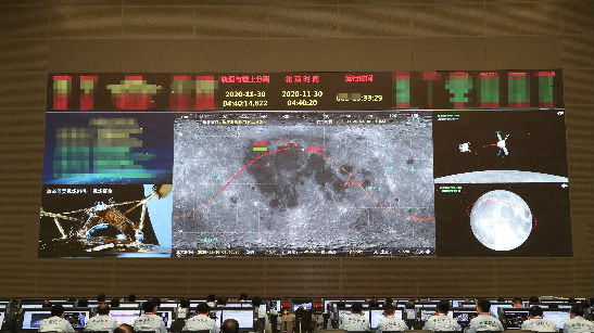 """美媒关注:嫦娥月球""""取土"""" 载人登月可期"""