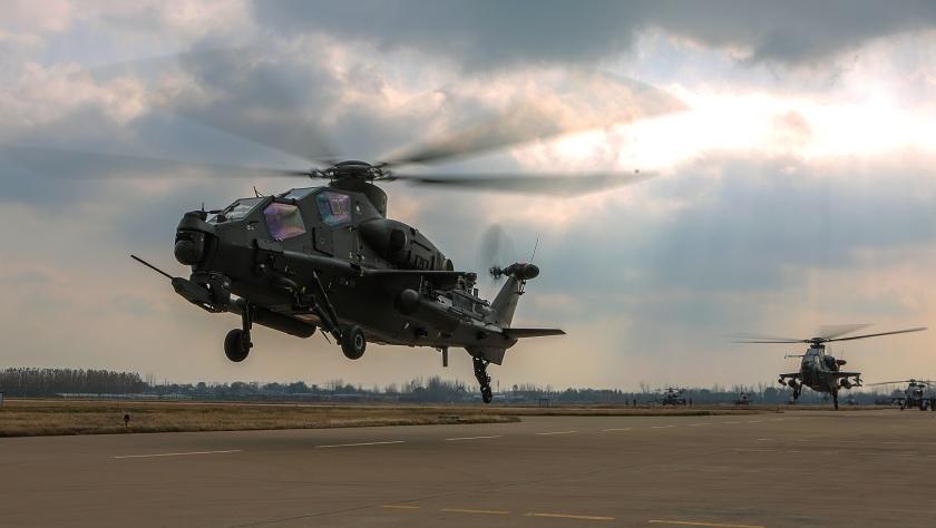 看陆航旅武直-10如何全天候训练