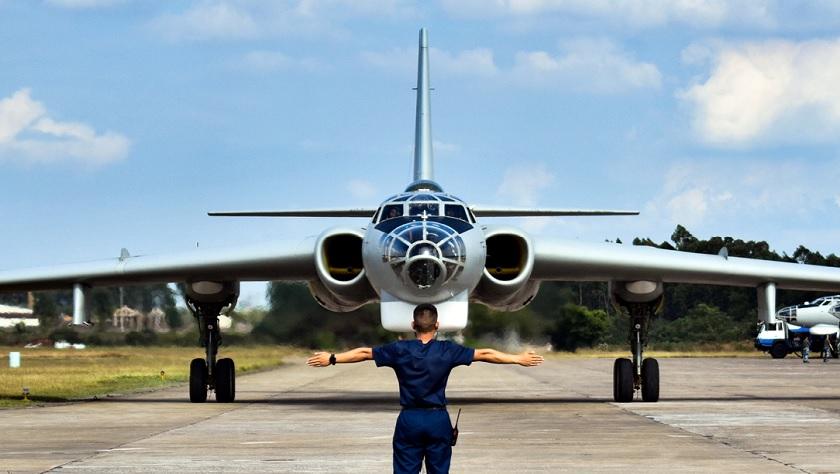 战神出击!看中部战区空军轰炸机部队训练