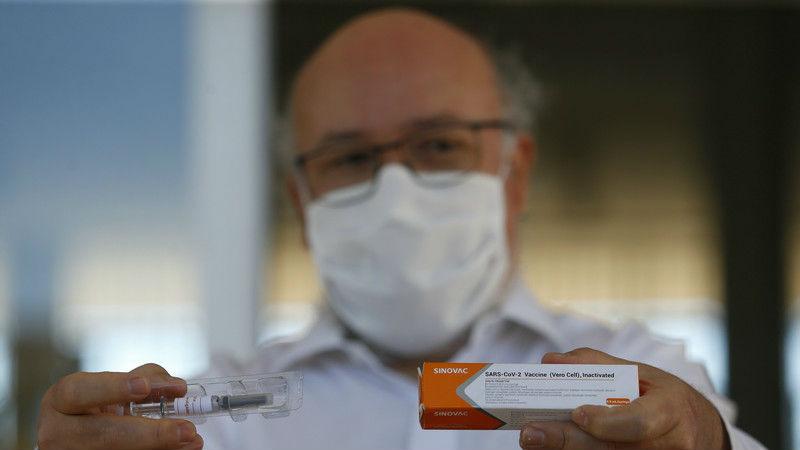 美媒:巴西完成科兴新冠疫苗三期试验 预计有效性将达到95%