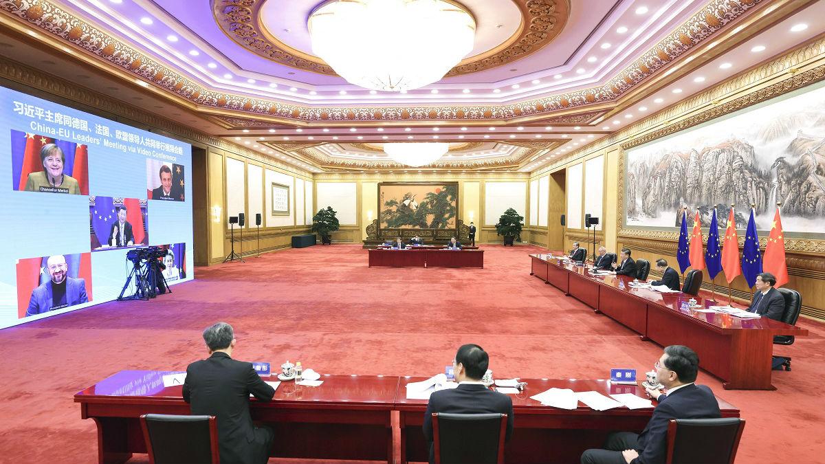 港媒:中欧协定加强中国与美国博弈中的地位