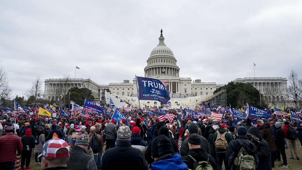 法媒:美国继续抓捕国会山骚乱分子