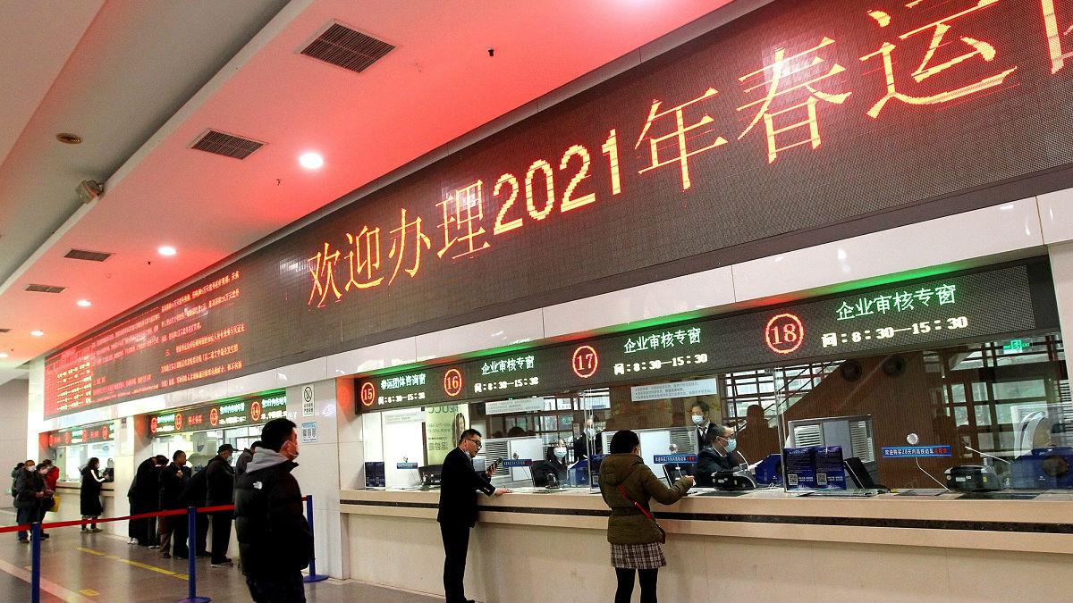 外媒:中国誓言确保新冠疫情不因春运扩散