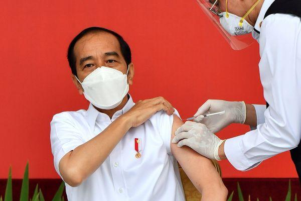 印尼总统 佐科 疫苗