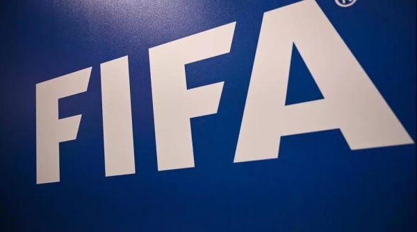 资料图片:国际足球联合会(FIFA)的标志