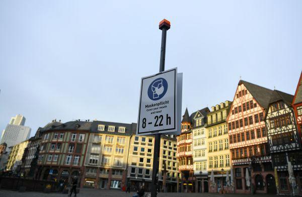 德国戴口罩警示