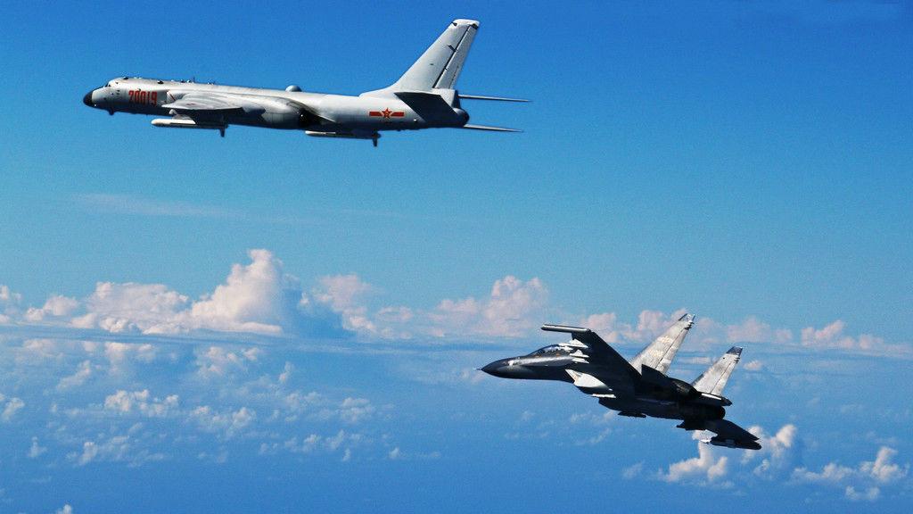 媒体关注:解放军出动大规模军机巡航台海