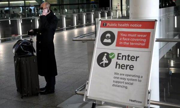 欧洲 英国 机场 口罩