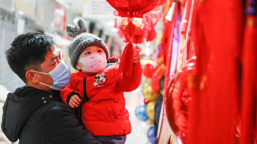 外媒关注:中国为迎接春节装扮一新