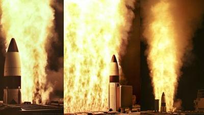 """外媒关注中国测试中段反导:拦截能力比肩美国""""宙斯盾"""""""