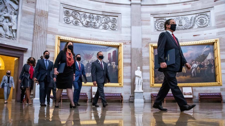 美国会参议院正式启动特朗普弹劾案审理